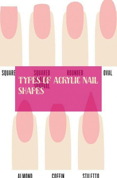 Nail Shapes Natural Nail Shapes Acrylic Nail Shapes Cute Acrylic Nails