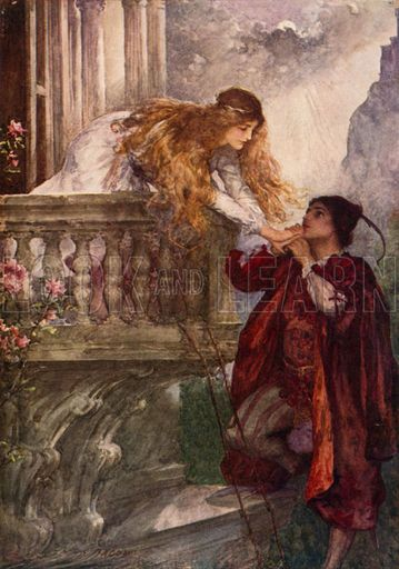 Romeo and Juliet. Illustration for Children's Stories from ...