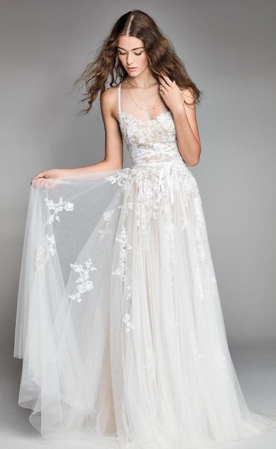 Courtesy of Willowby by Watters Wedding Dresses; www.watters.com/willowby; Wedding dress idea.