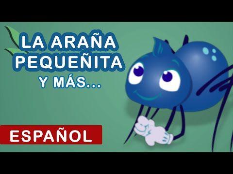 La Araña Pequeñita | Itsy Bitsy Spider in Spanish | Canciones Infantiles | Canciones para Niños - YouTube