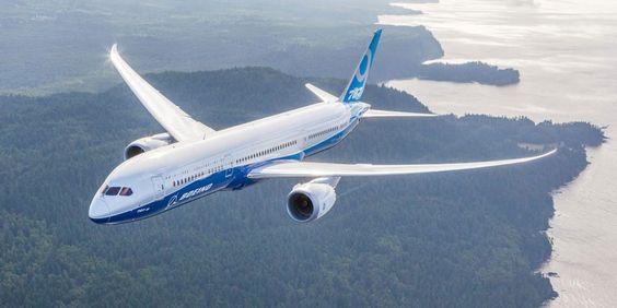 O 787 foi o primeiro jato comercial construído com materiais compostos (Boeing)