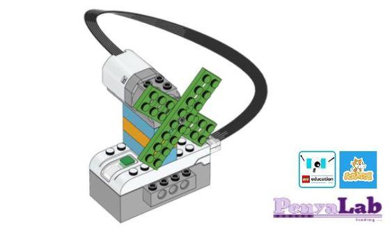 Lego wedo + Scratch – Ventilador