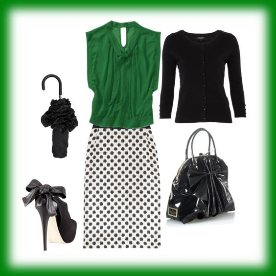 """""""GOING GREEN"""" by ep2182 on Polyvore"""