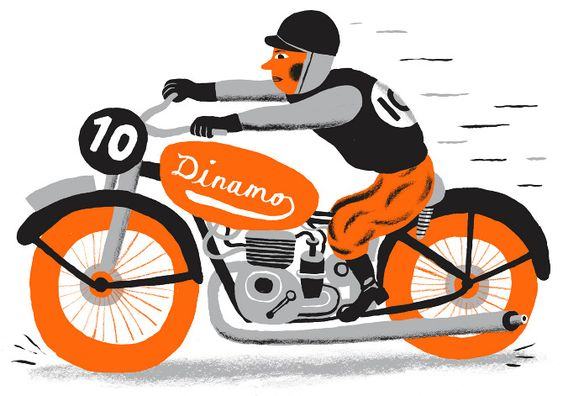 Speeding Motorcycle par Bjørn Rune Lie