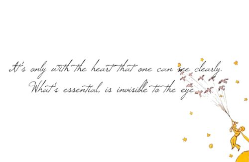 The Little Prince - one of my favourites
