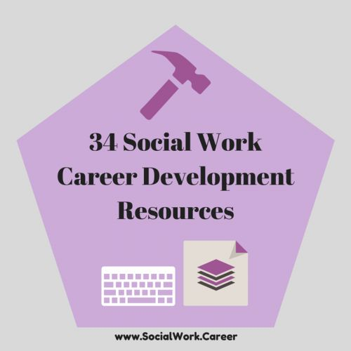 34 social work career resources including job search sites specific to the mental health field