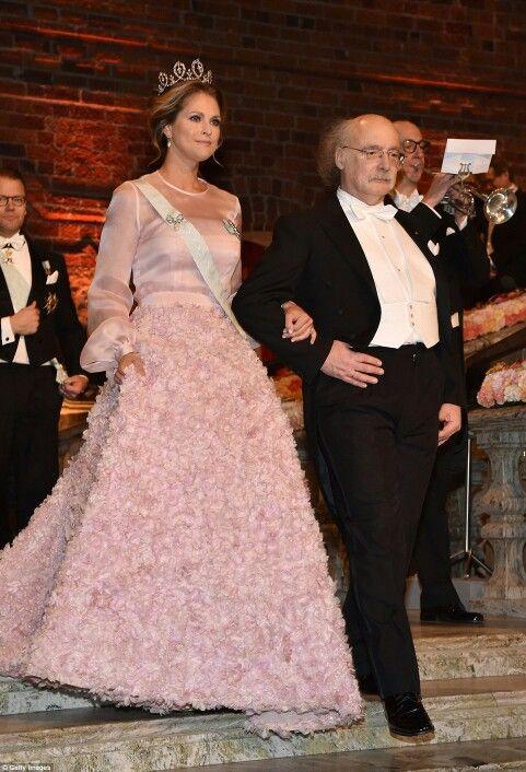 Princess Madeleine of Sweden at the Nobel Prize Ceremony. December 10 2016