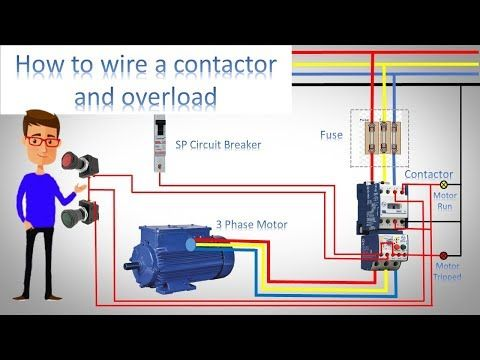 Ladder Diagram Basics 3 2 Wire 3 Wire Motor Control Circuit Youtube Ladder Logic Wire Motor