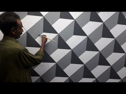 3d Wall Painting 3d Wall Texture New Design Ideas 3d Wall Decoration Effect Interior Design Y 3d Wall Painting Wall Stencil Patterns Wall Paint Designs
