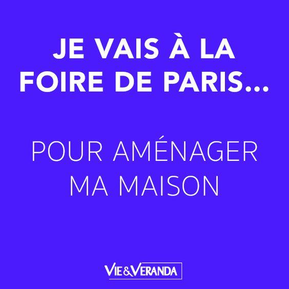 Je vais à la Foire de Paris pour ... aménager ma maison. #foiredeparis @foiredeparis #jevaisalafoiredeparis