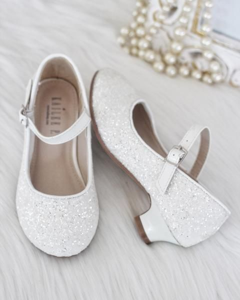 New Kids Shiny Toe Embroidery Sequined Flats Pumps Girls Casual Sneakers Shoes