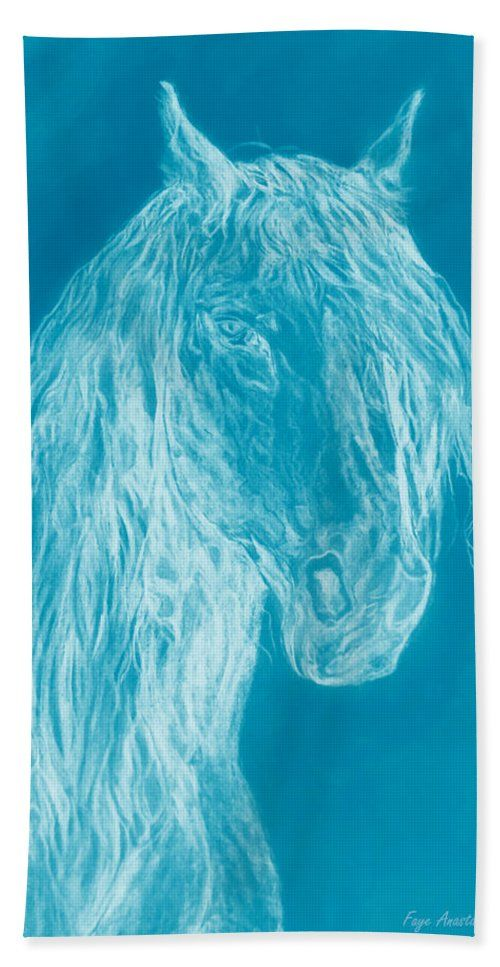 Cloud Horse Beach Towel For Sale By Faye Anastasopoulou Horses