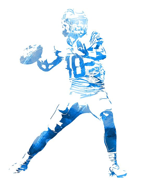 Justin Herbert Los Angeles Chargers Watercolor Strokes Pixel Art 100 By Joe Hamilton In 2020 Pixel Art Art Los Angeles Chargers