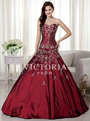 red ball gown dresses - Dress Yp