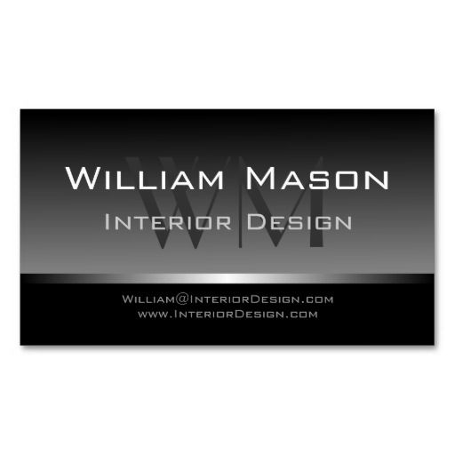 Cool Black with Grey Stripes - Business Card I love this design - bus pass template