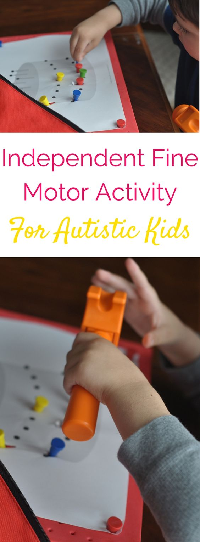 Fine Motor Motors And Activities On Pinterest