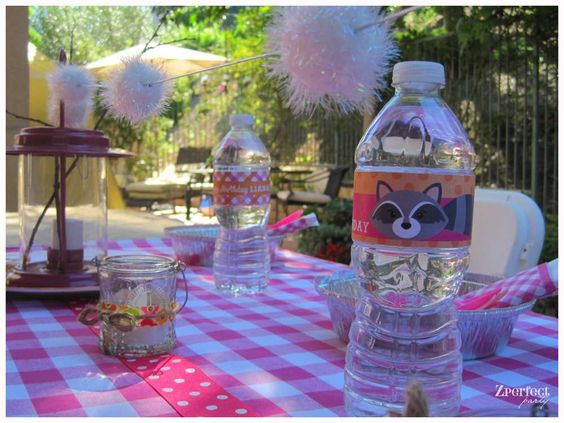 Glam Camping Birthday Party Ideas | Photo 1 of 16