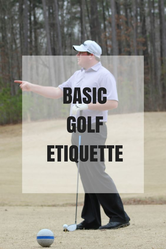 Learn what basic golf etiquette is before you play.
