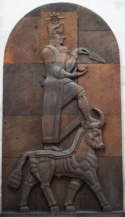 The religion of the Urartu civilization, which flourished principally in ancient Armenia from the 9th to 6th century BCE, was a unique mix of indigenous, Hurrian and Mesopotamian gods and symbolism...