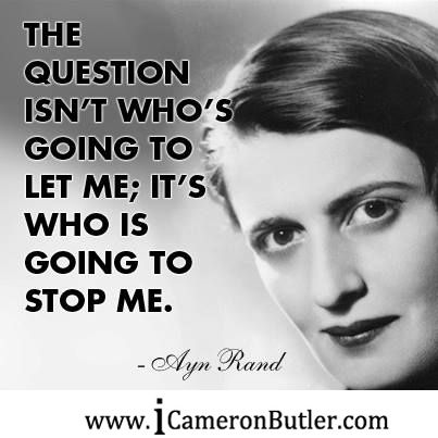 Ayn Rand stating she wished to call her philosophy existentialism?