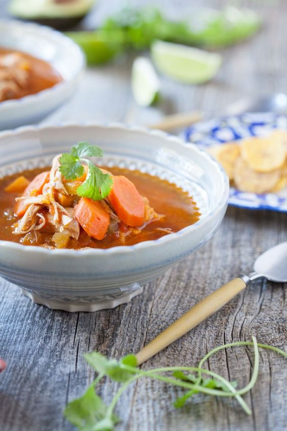 Enchilada soup, Chicken enchilada soup and Enchiladas on Pinterest