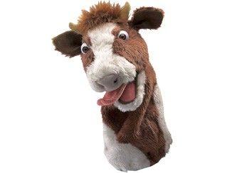 'Muh die Kuh' Handpuppe von Folkmanis