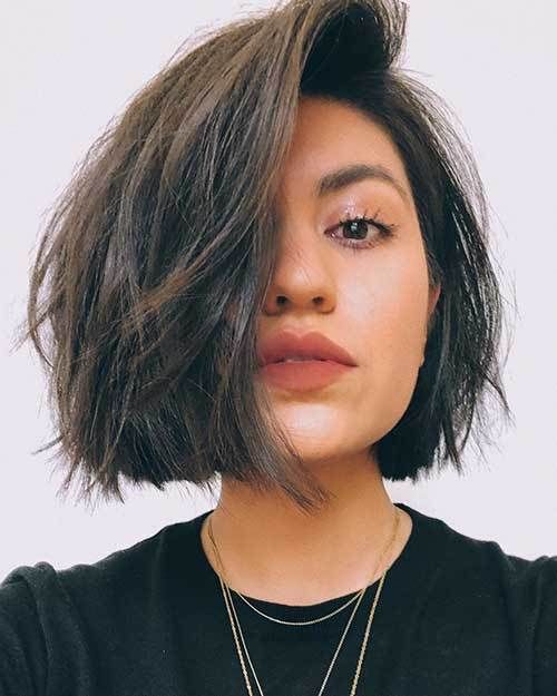 Best Short Hairstyle Ideas 2019 The Undercut Short Hair Styles For Round Faces Short Hairstyles For Thick Hair Thick Hair Styles