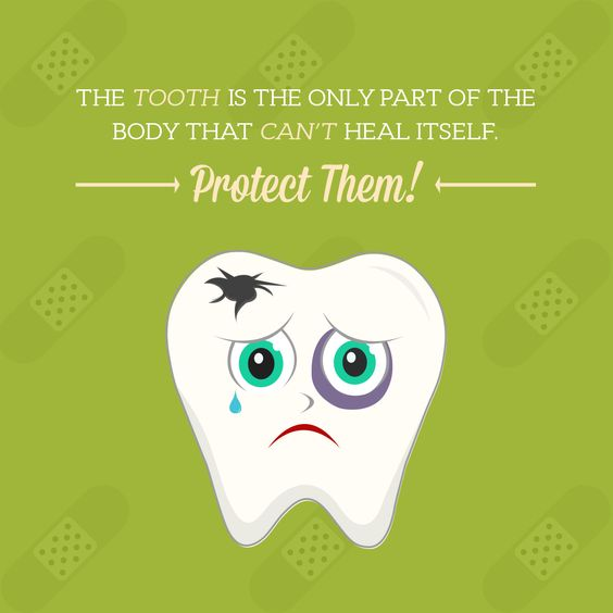 TEETH ARE AMAZINGLY STRONG, but they can't repair themselves. However, with proper care and protection they can last a lifetime!