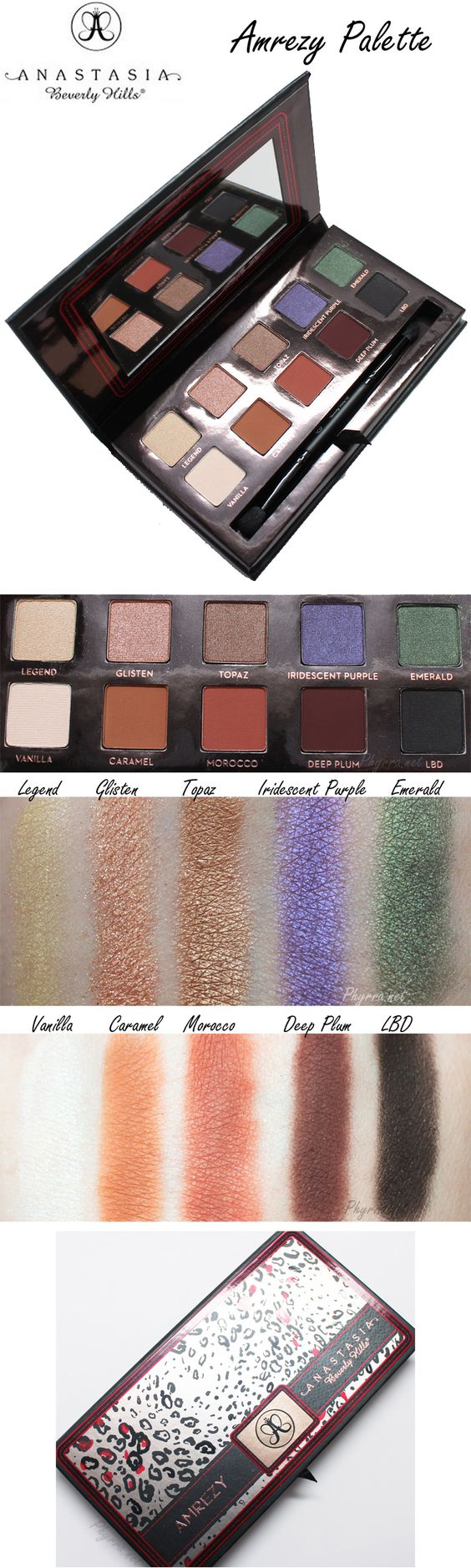 Anastasia Beverly Hills Amrezy Palette Review My Sister