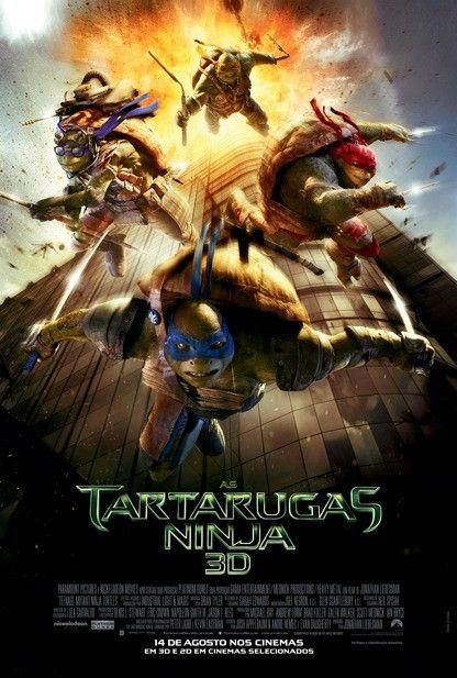 """""""As Tartarugas Ninja"""" teve divulgado cartaz nacional http://cinemabh.com/imagens/as-tartarugas-ninja-teve-divulgado-cartaz-nacional"""