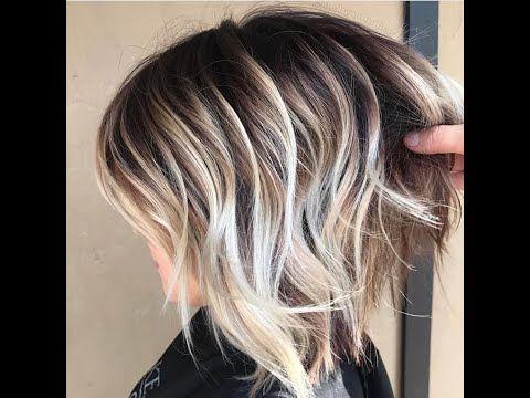 Long Hairstyles Women Hair Ideas Short Haircuts Haircuts Hair Color Hairstyles Tutorials Youtube In 2020 Balayage Hair Ombre Hair Color Short Ombre Hair
