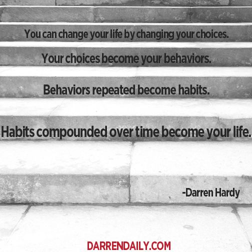 Choose a bad habit to change - what will it be?