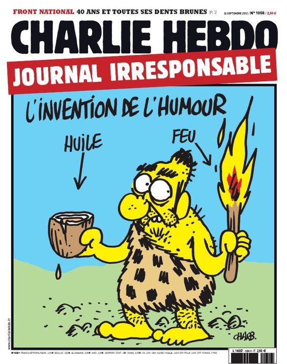 radiographie du cerveau de Dieudonné : un point de détail. Couverture Charlie Hebdo