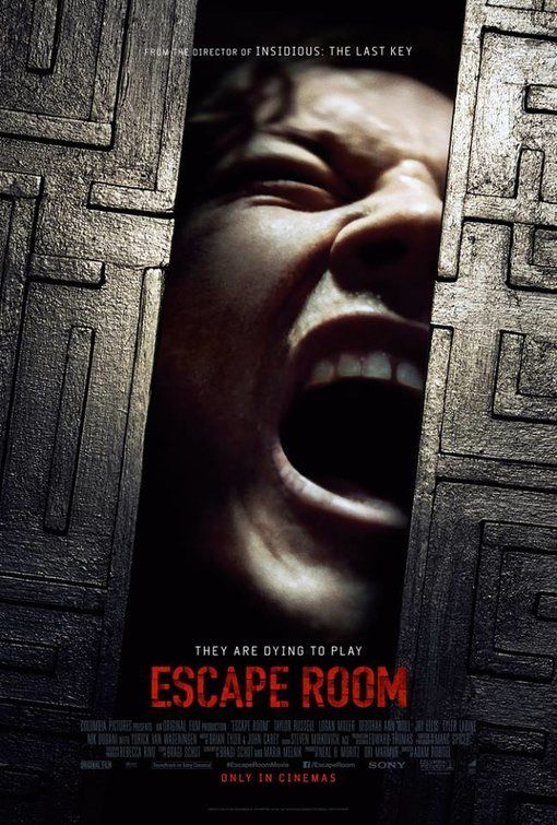 Escape Room 2019 Movie Review Escape Room Movie Posters Room Posters