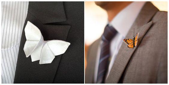 sposo farfalle matrimonio / butterfly groom