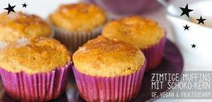 #Muffins mit Schoko-Kern und nur mit Stevia gesüsst. Sie können #Stevia bei uns bestellen. Mehr Info unter: http://www.incaico.de/#!import-export-d/c1bkw