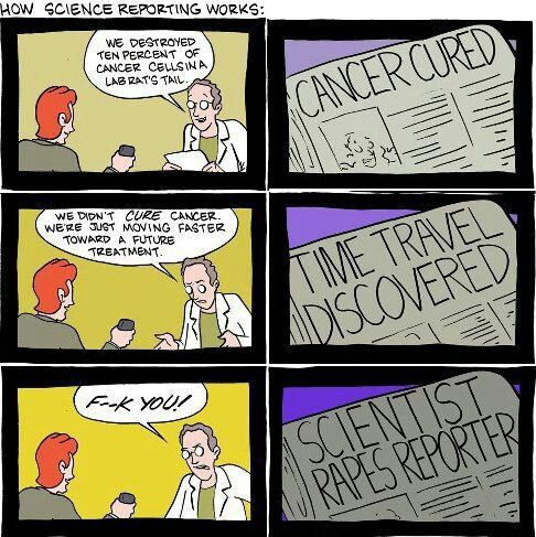 Science reporting