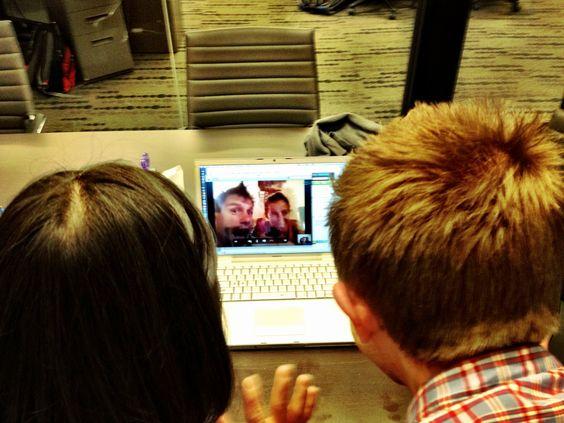 Jules & Brock meet our Team Europe (Ryan & Asha)