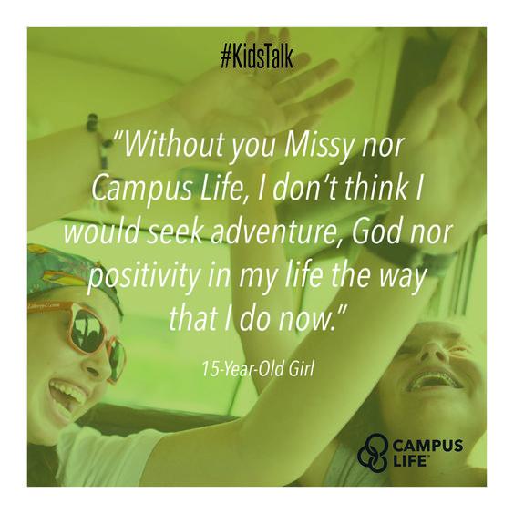 #KidsTalk #@yfc #campuslife