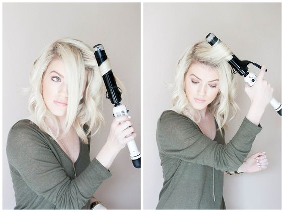 Kailey's Hair Tutorial: How to style a long bob   Double Shot of Sass
