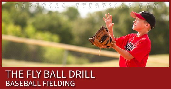 This Fly Ball Drill Will Build Confidence To Catch Fly Balls And Use The Proper Technique Fly Ball Confidence Building Drill