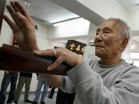 In this video we meet sifu Ip Chun, son and successor of none other than Ip Man. He currently teaches classes at the humble Ving Tsun Athletic Association's headquarters in Mong Kok which was established in 1967. Ip Chun prefers to see Wing Chun as a health regimen rather than just a form of combat.    The spry 84-year-old tells us about all things Wing Chun and his thoughts on the future of the martial art in today's society.