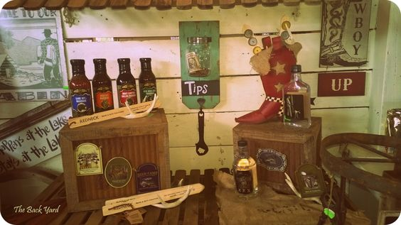 Moonshine and Marinades! What else does a Mancave need?