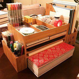 Wooden Stationery Paper Organiser Cute Desk Accessories Etsy Desk Organization Wooden Office Desk Desk Accessory Design