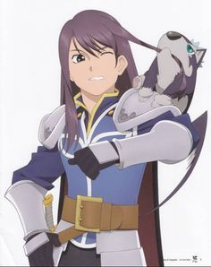 Tales of Vesperia - Yuri and Puppy Repede