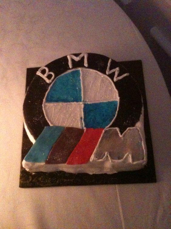 Haha! Love this Groom's Cake - BMW M3 (E90 E92)