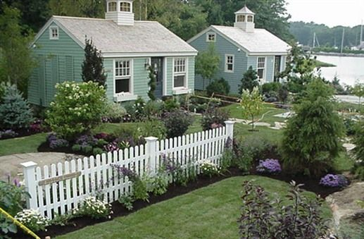 Little cottages cottage in and maine cottage on pinterest for Where can i buy a katrina cottage