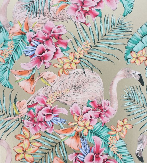 A mixtures of colours and metallics this fabulous collection by Matthew Williamson features exotic designs inspired by nature and travel.
