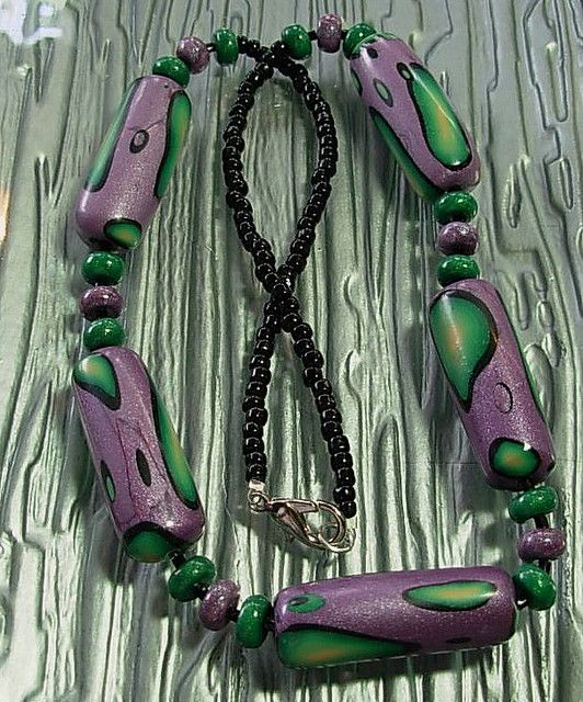 Mardi Gras Magic by Polymer Penguin, via Flickr