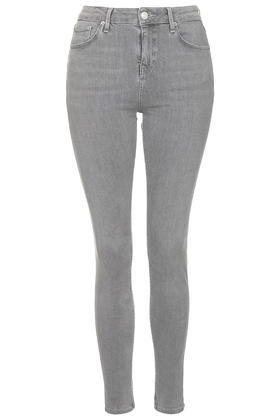 Graue MOTO Jamie Jeans